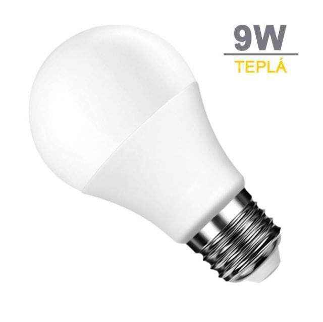 LED21 LED žárovka 9W 18xSMD2835 806lm E27 Teplá bílá